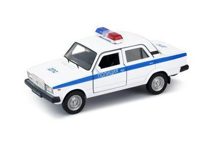 Игрушечная металлическая машина LADA 2107 «Полиция» масштаб 1:34-39LADA<br>Игрушечная металлическая машина LADA 2107 «Полиция» масштаб 1:34-39<br>