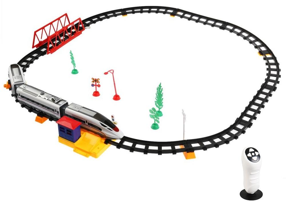 Железная дорога на инфракрасном управлении, свет и звук, 264 см