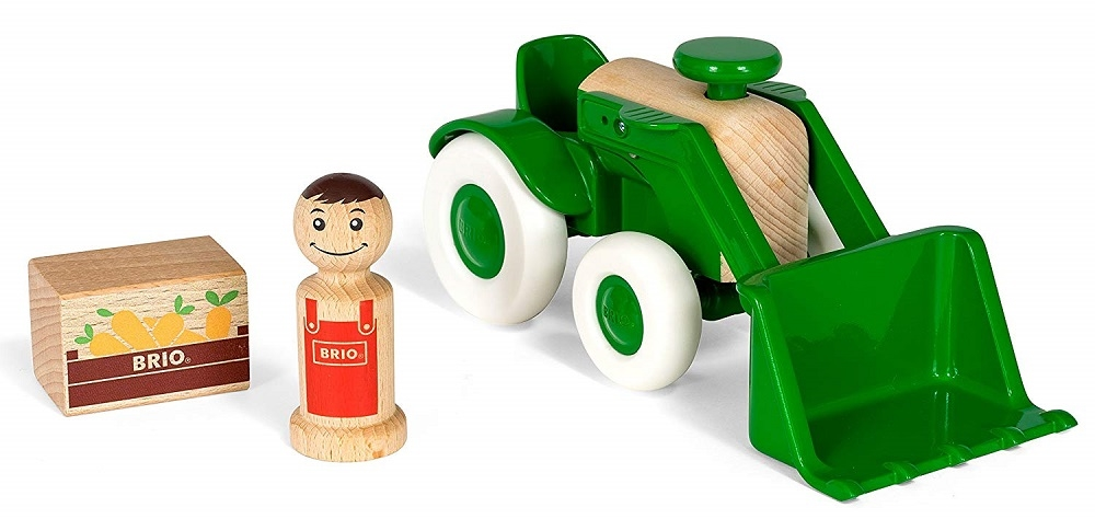 Купить Игровой набор из серии Мой родной дом - Трактор с морковкой, 3 элемента, Brio