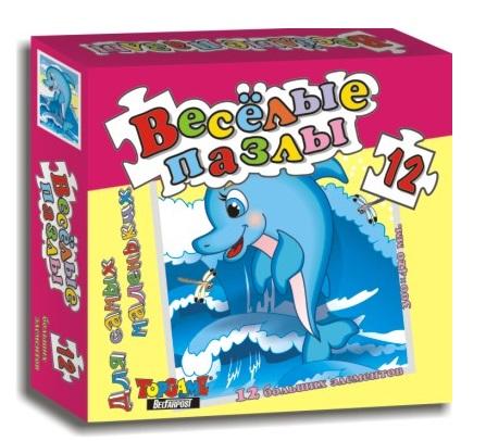 Макси паззл ДельфинПазлы для малышей<br>Макси паззл Дельфин<br>