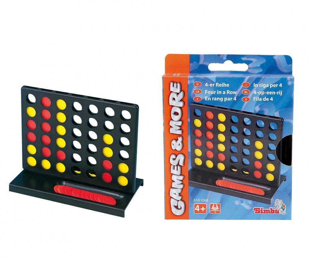 Настольная игра - 4 в ряд, на 2 игрокаЛогические<br>Настольная игра - 4 в ряд, на 2 игрока<br>