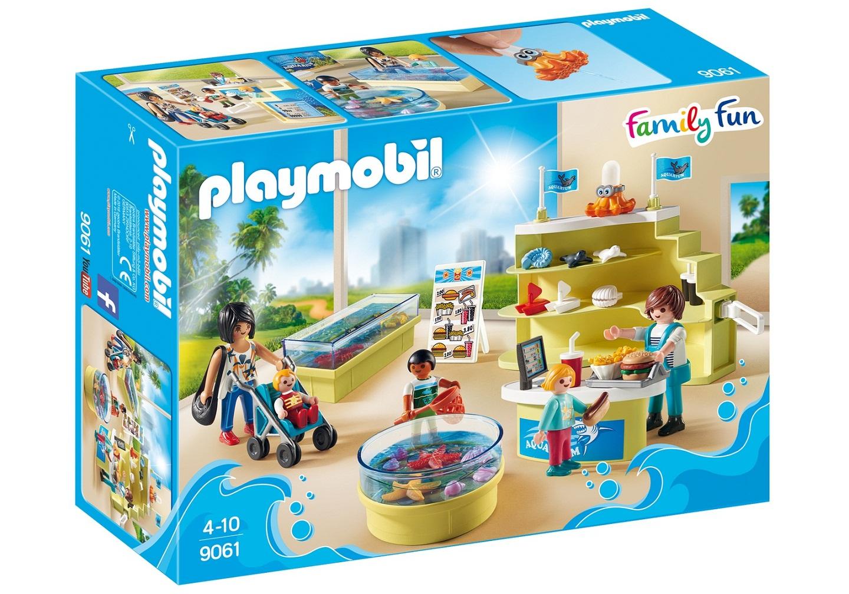 Игровой набор из серии Аквариум - Магазин аквариумов, Playmobil  - купить со скидкой