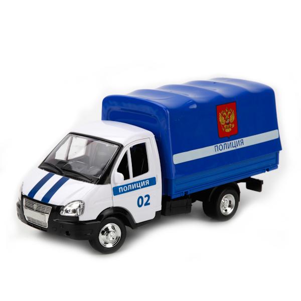 Инерционная машина Газель - Полиция со светом и звукомПолицейские машины<br>Инерционная машина Газель - Полиция со светом и звуком<br>