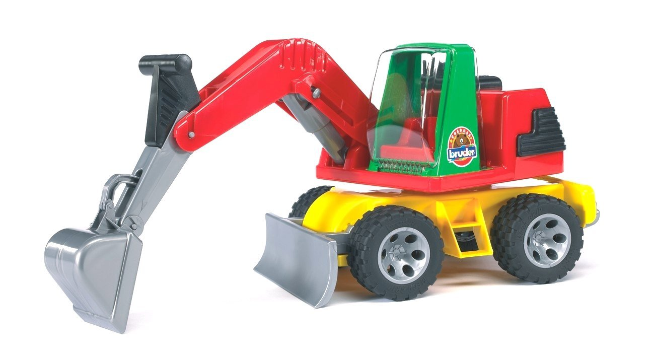 Экскаватор Bruder RoadmaxИгрушечные тракторы<br>Экскаватор Bruder Roadmax<br>