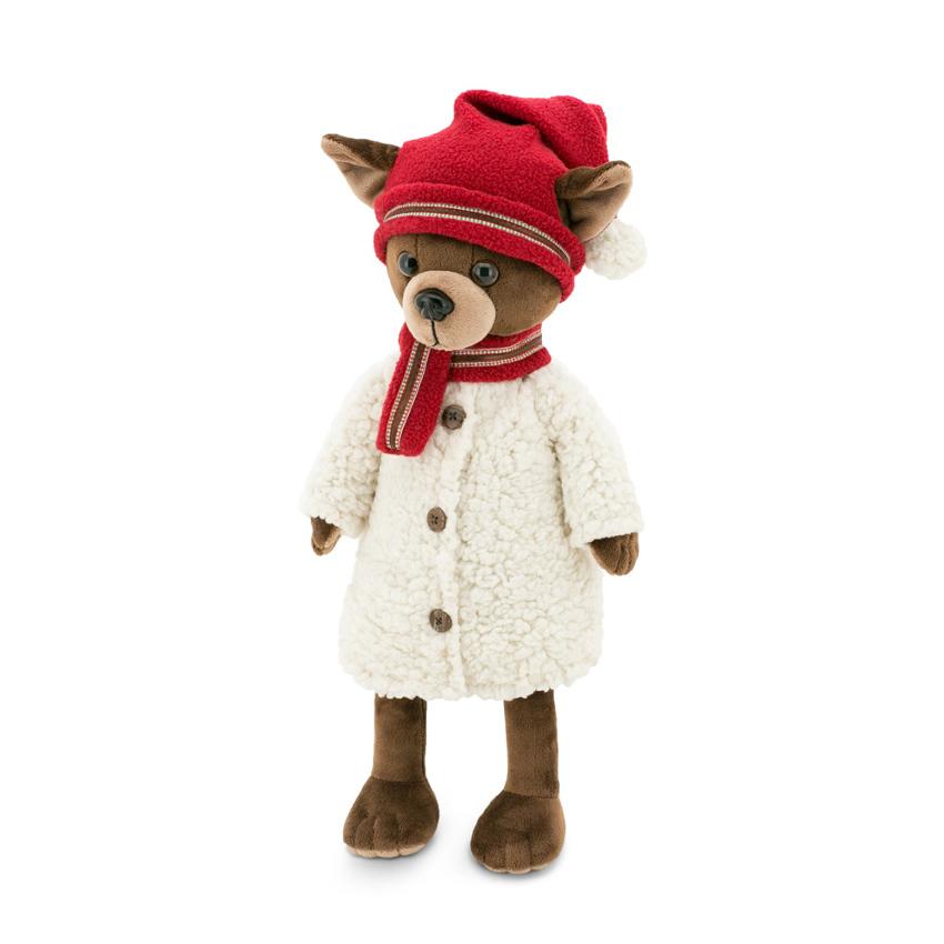 Мягкая игрушка - Собачка из серии Lucky Kiki: Зимняя сказка, Lucky Doggy, Orange  - купить со скидкой