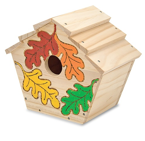 Набор для творчества Создай свой собственный скворечникДомики, кормушки для птиц<br>Набор для творчества Создай свой собственный скворечник<br>