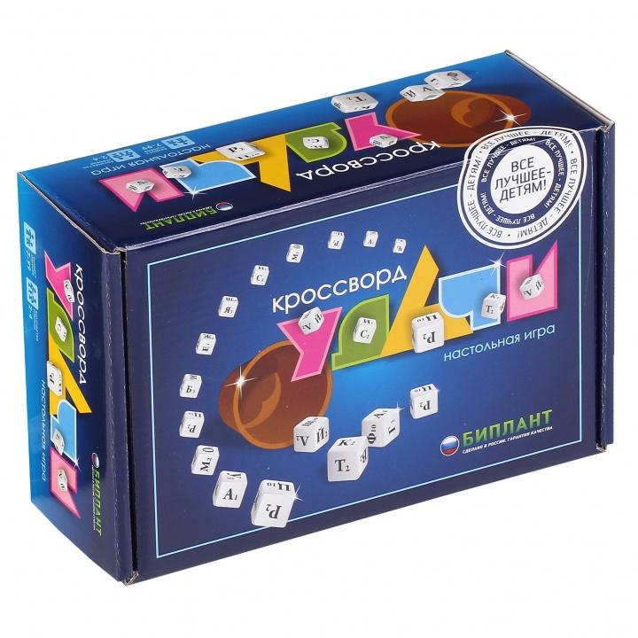 Игра настольная - Кроссворд удачи, синийРазвивающие<br>Игра настольная - Кроссворд удачи, синий<br>