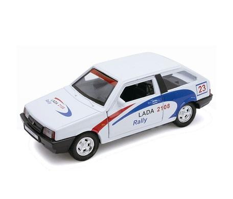 Коллекционная металлическая машинка LADA 2108 Rally, масштаб 1:34-39LADA<br>Коллекционная металлическая машинка LADA 2108 Rally, масштаб 1:34-39<br>