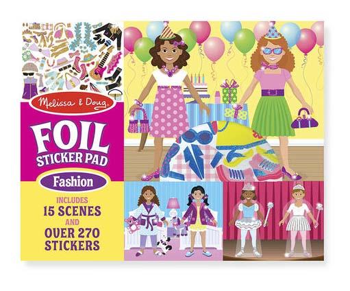 Купить Набор стикеров с фоном Творчество - Показ мод, Melissa&Doug