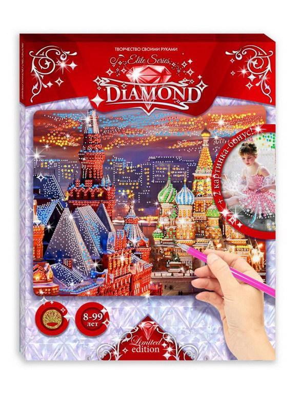 Мозаика Elite Series Diamond Красная площадь + Балеринки с котёнком по цене 496