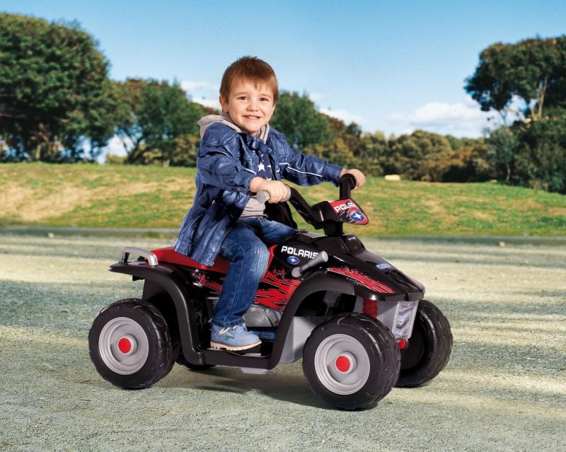 Квадроцикл Polaris Sportsman Nero - Детские квадроциклы на аккумуляторе, артикул: 28819