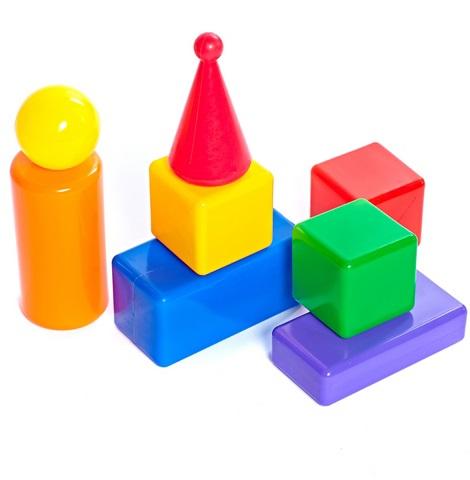 Строительный набор - Стена-2, 8 элементовКубики<br>Строительный набор - Стена-2, 8 элементов<br>