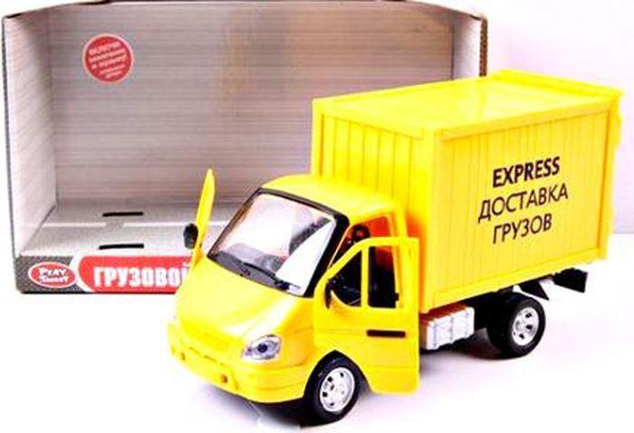 Инерционная модель Газель фургон – Доставка, 24 см, свет, звук фото