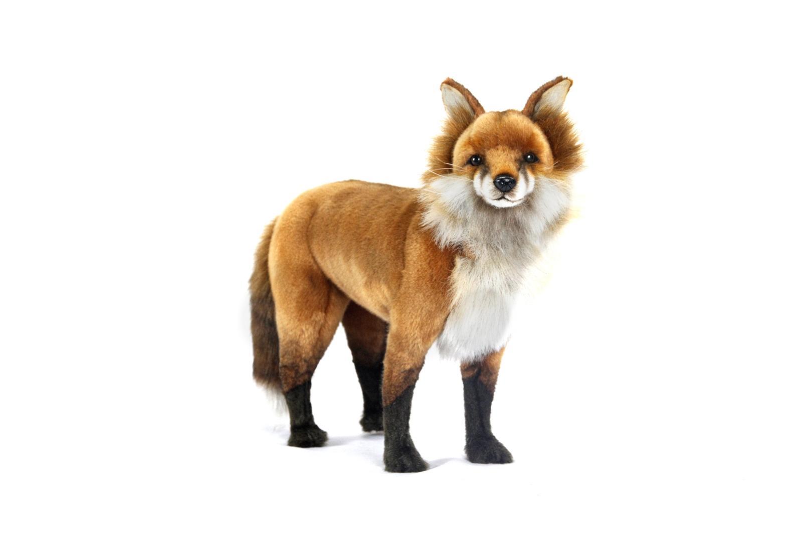Мягкая игрушка - Рыжая лиса, 36 см.Дикие животные<br>Мягкая игрушка - Рыжая лиса, 36 см.<br>