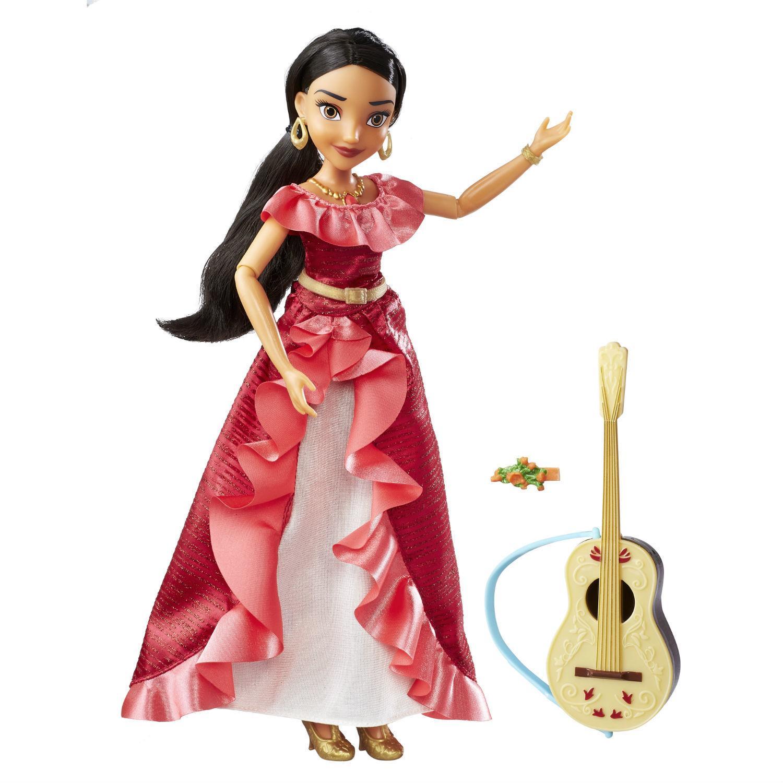 Поющая кукла-принцесса Disney - Елена из Авалора, с гитарой, звукКуклы Disney: Ариэль, Золушка, Белоснежка, Рапунцель<br>Поющая кукла-принцесса Disney - Елена из Авалора, с гитарой, звук<br>