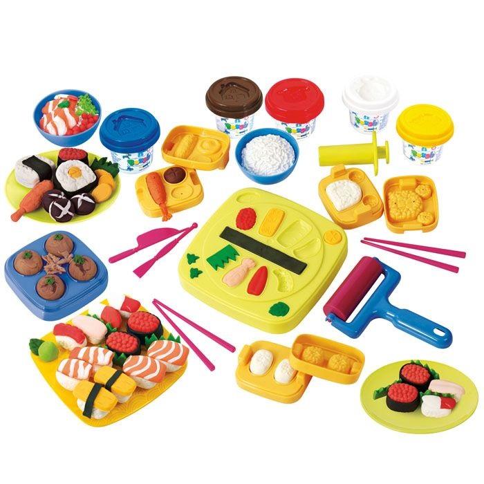 Набор с пластилином - Суши барНаборы для лепки<br>Набор с пластилином - Суши бар<br>
