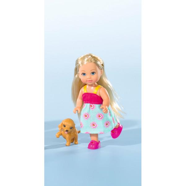 Купить Кукла Еви с собачкой 12 см., Simba