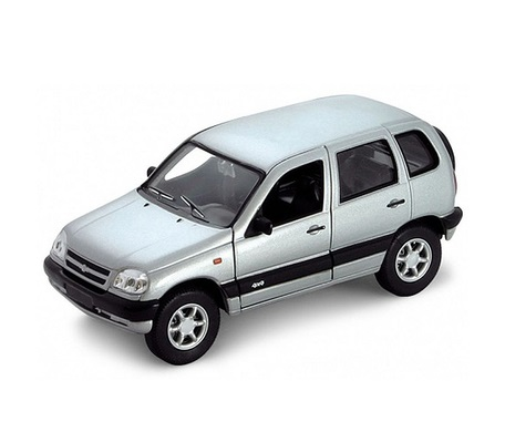 Коллекционный игрушечный автомобиль модели Chevrolet Niva, масштаб 1:34-39Нива<br>Коллекционный игрушечный автомобиль модели Chevrolet Niva, масштаб 1:34-39<br>