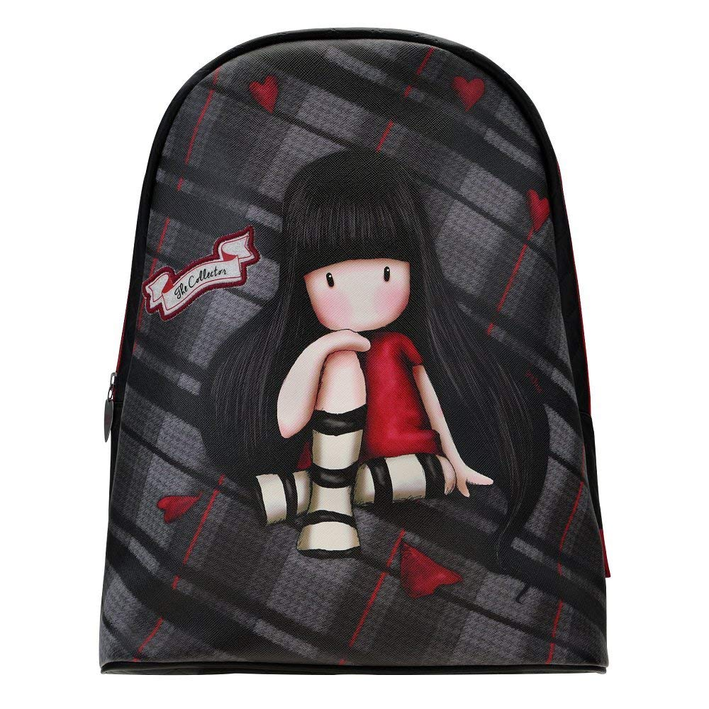 Купить Фэшн рюкзак из серии Gorjuss Tartan - The Collector, Santoro London
