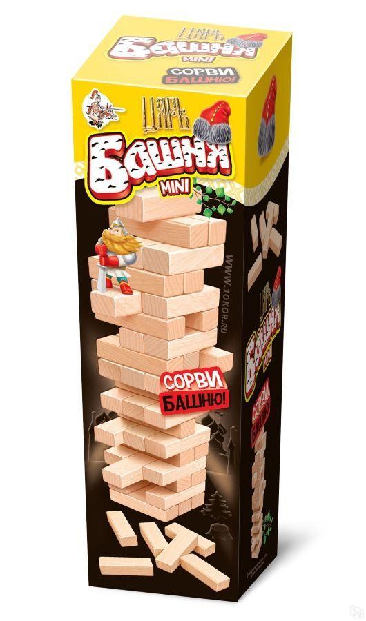 Купить Настольная мини-игра для детей и взрослых - Царь башня, Десятое королевство