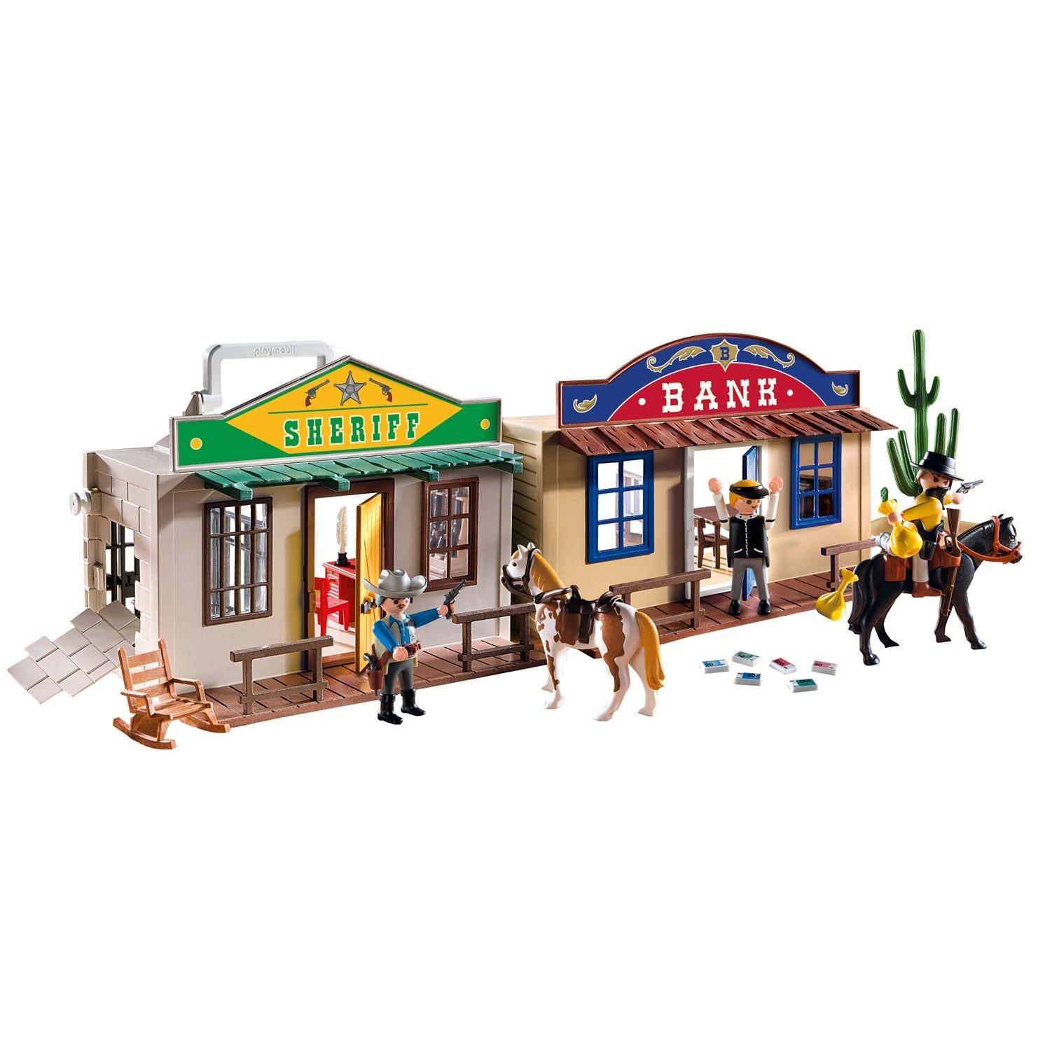 Игровой набор Возьми с собой - Дикий Запад от Toyway