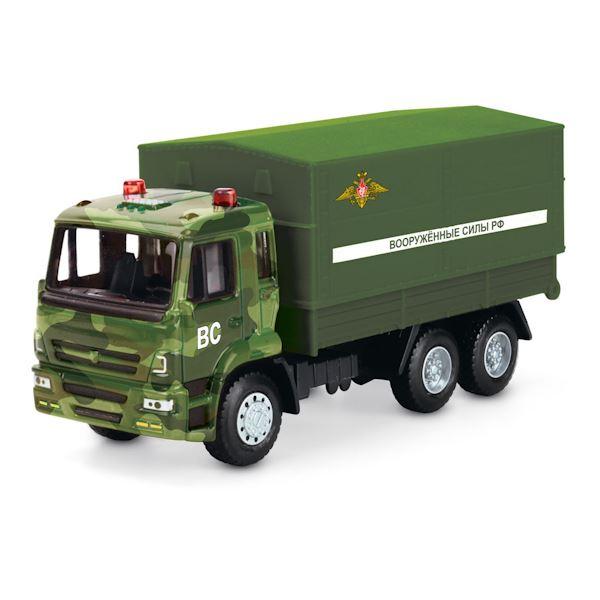 Купить Машина металлическая инерционная - Вооруженные силы, 12 см, Технопарк