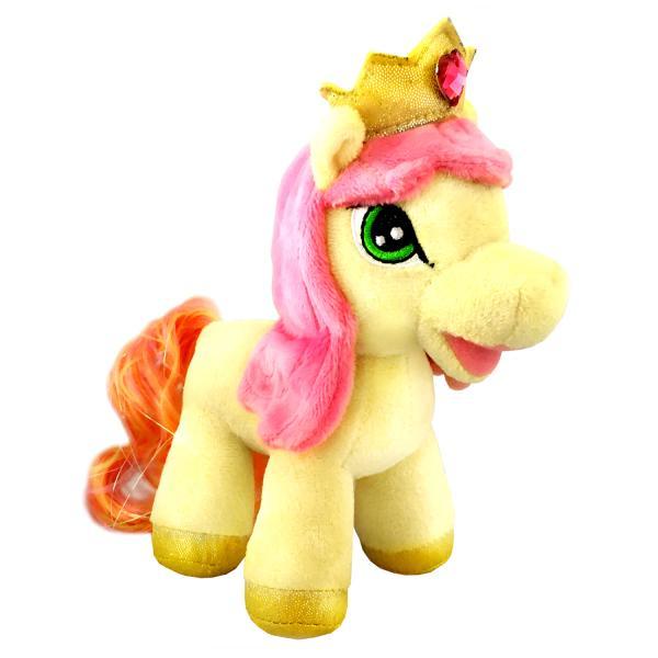 Озвученная мягкая игрушка - Пони Мелодия, 17 смЛошадки Филли Filly Princess<br>Озвученная мягкая игрушка - Пони Мелодия, 17 см<br>