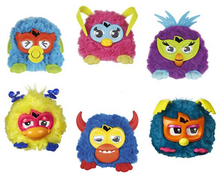Малыш Furby, Фёрби, серия Короли вечеринокИнтерактивные игрушки<br><br>