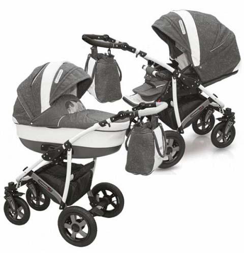 Детская коляска – Camarelo Carmela 2 в 1, CR-23Детские коляски 2 в 1<br>Детская коляска – Camarelo Carmela 2 в 1, CR-23<br>