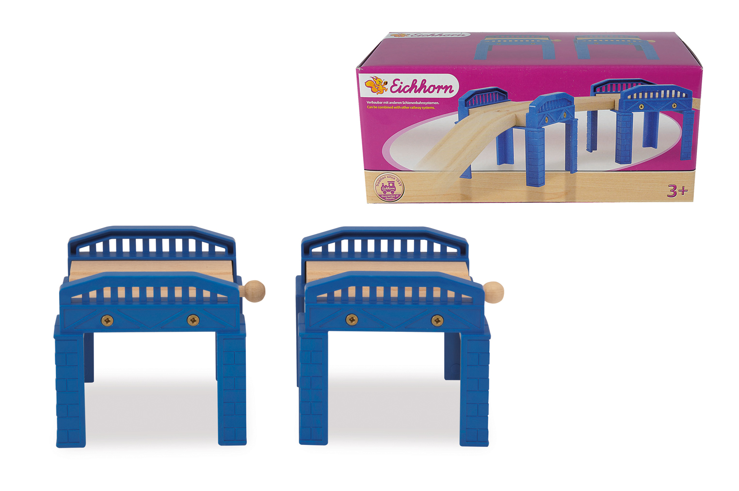 Игровой набор Два мостаДетска железна дорога<br>Игровой набор Два моста<br>