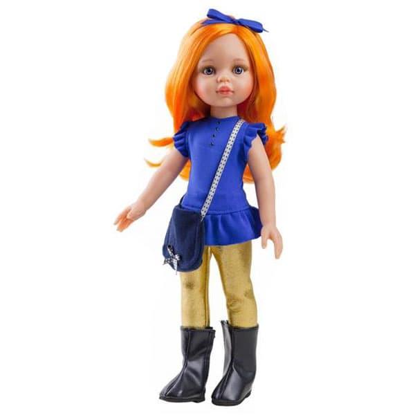 Купить Кукла Карина с рыжими волосами, 32 см., Paola Reina