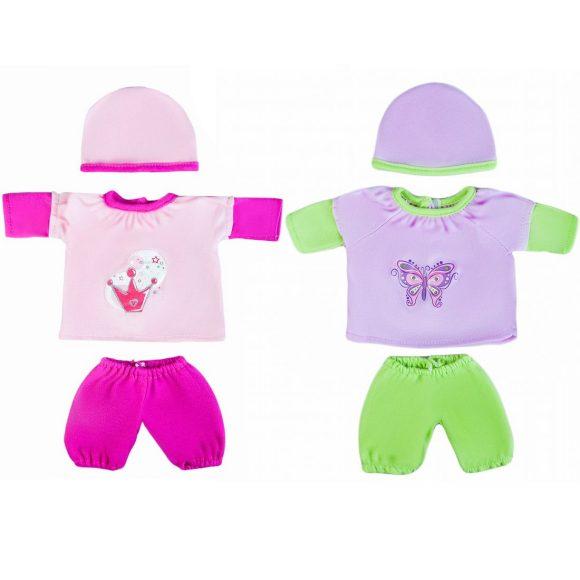 Одежда для куклы 30 см, кофточка, штанишки и шапочка