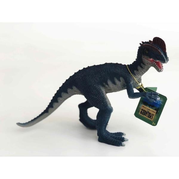 Купить Игрушка из пластизоля - динозавр Дилофозавр, Играем вместе