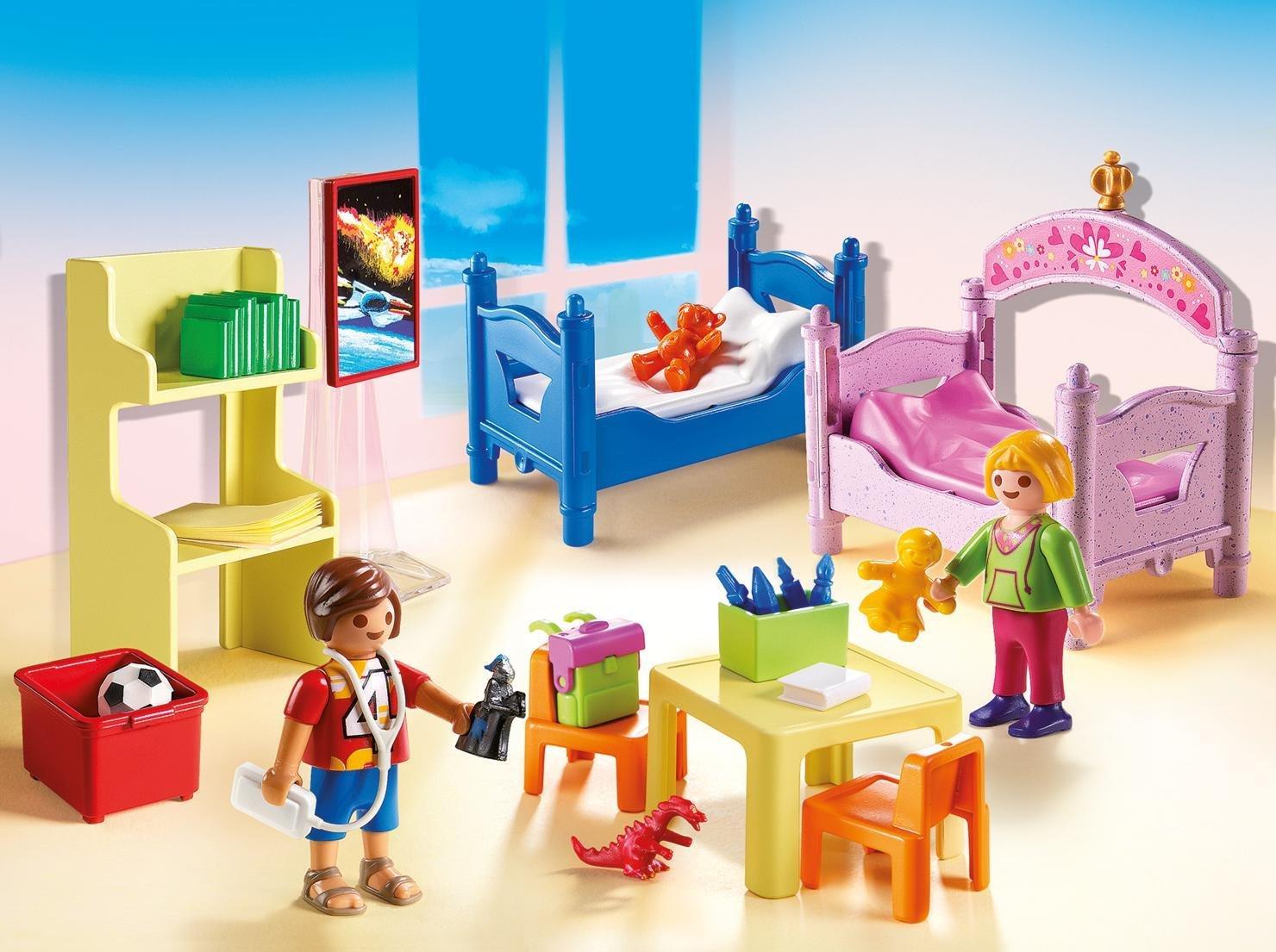 Купить Игровой набор из серии Кукольный дом: Детская комната для 2-х детей, Playmobil