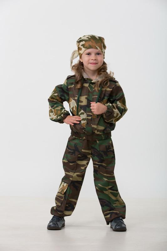 Купить Карнавальный костюм Спецназ из серии Профессии, размер 134-68, Батик
