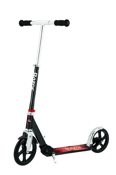 Купить Городской двухколёсный самокат RAZOR A5 Lux, чёрный, 070705