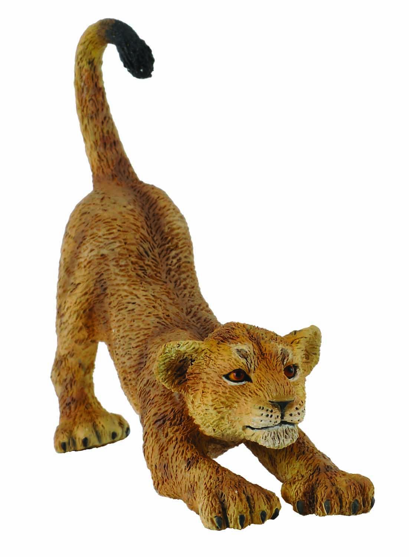 Фигурка потягивающегося львенкаДикая природа (Wildlife)<br>Фигурка потягивающегося львенка<br>