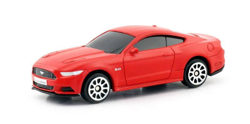 Купить Металлическая машина RMZ City - Ford Mustang 2015, 1:64, цвет красный матовый