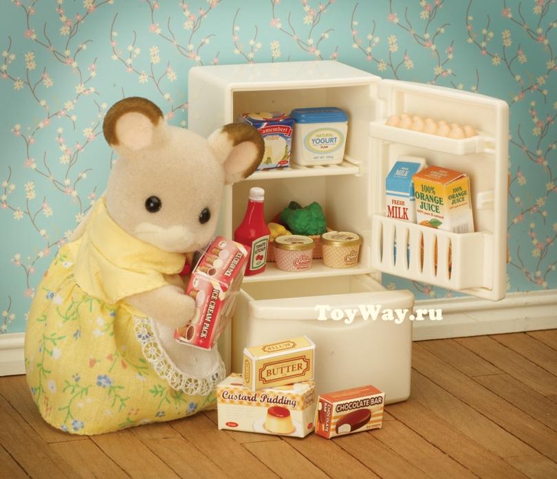 Набор «Холодильник с продуктами»Мебель<br>Набор «Холодильник с продуктами»<br>