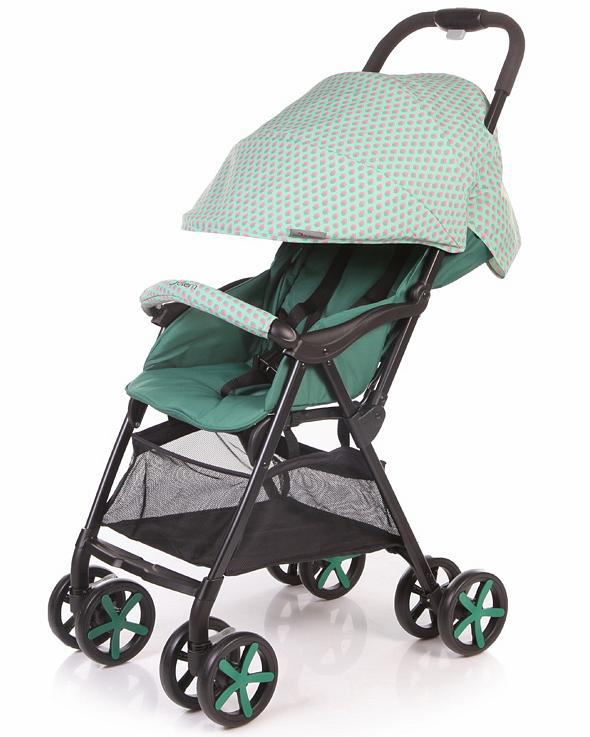 Коляска прогулочная Carbon, зелёнаяДетские коляски Capella Jetem, Baby Care<br>Коляска прогулочная Carbon, зелёная<br>