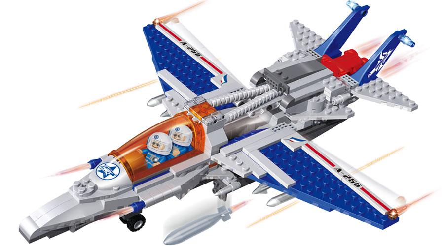Самолет истребитель - Самолеты, службы спасения, артикул: 98260