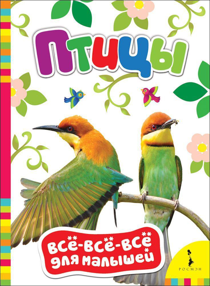 Купить Книга из серии Все-все-все для малышей - Птицы, Росмэн