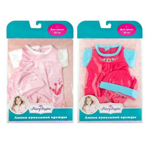 Одежда для куклы 30 см - Комбинезон велюровый с шапочкойОдежда для кукол<br>Одежда для куклы 30 см - Комбинезон велюровый с шапочкой<br>