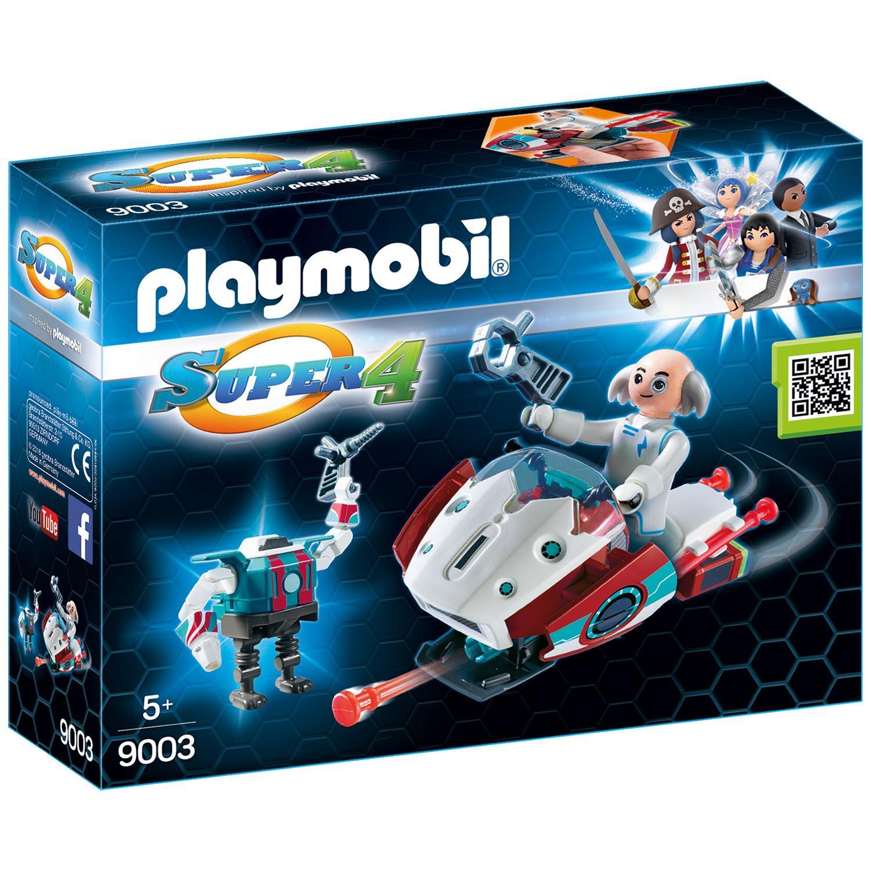 Купить Игровой набор из серии Супер4: Скайджет с Доктором Х и Робот, Playmobil