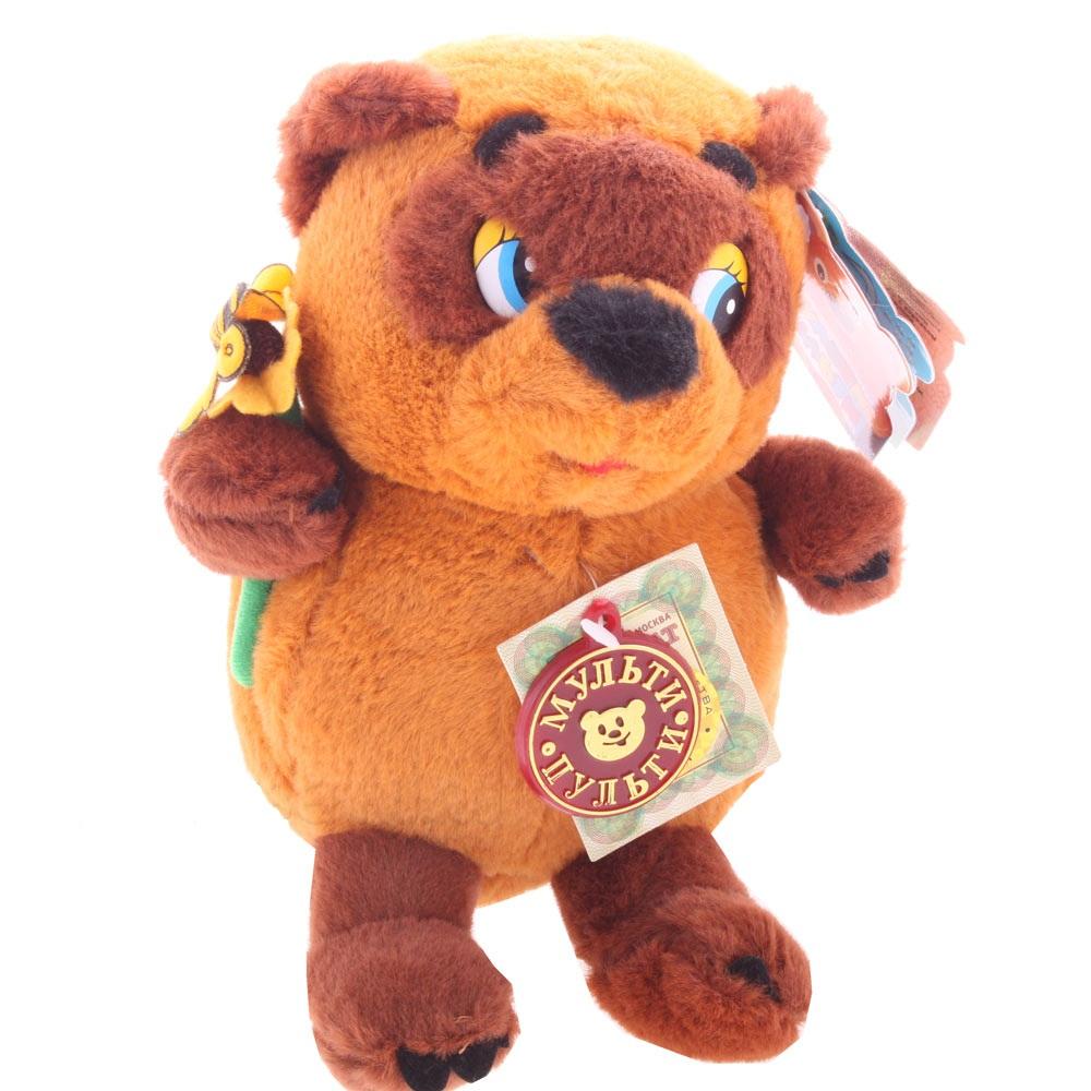 Мягкая игрушка - Винни Пух, 15 смИгрушки Союзмультфильм<br>Мягкая игрушка - Винни Пух, 15 см<br>