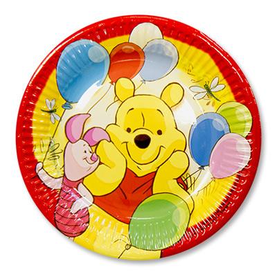 Тарелка Винни-Пух и друзья, 20 см, 8 штукВинни Пух<br>Тарелка Винни-Пух и друзья, 20 см, 8 штук<br>