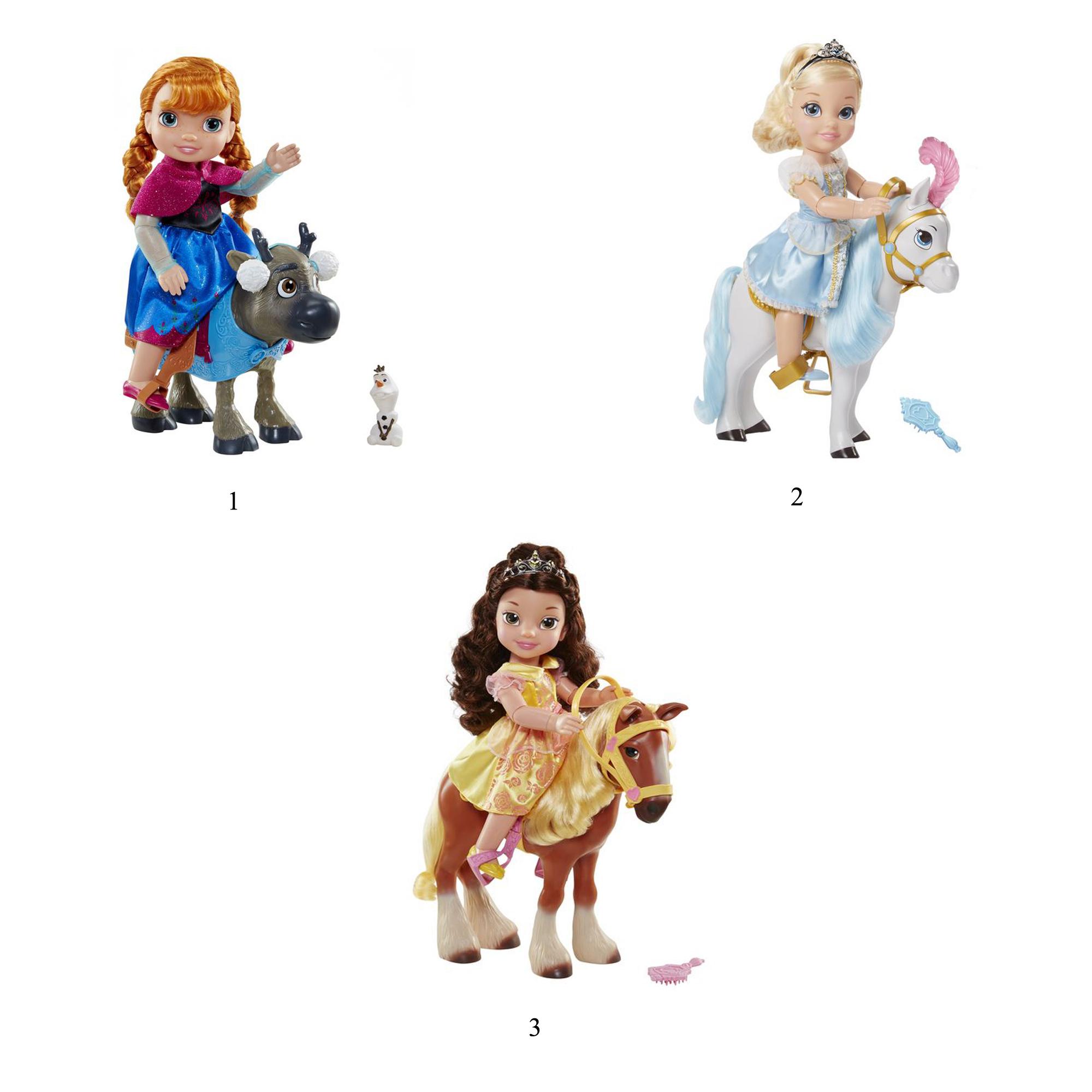 Куклы Дисней - Принцесса с животнымЗолушка<br>Куклы Дисней - Принцесса с животным<br>