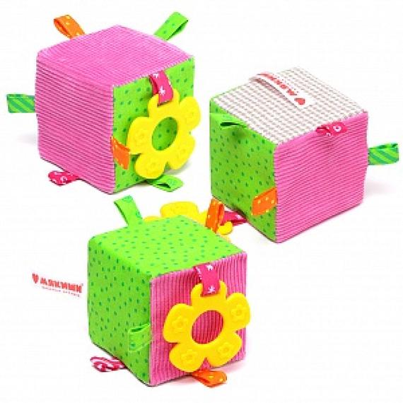 Купить Игрушка Экомякиши – Кубик, Мякиши