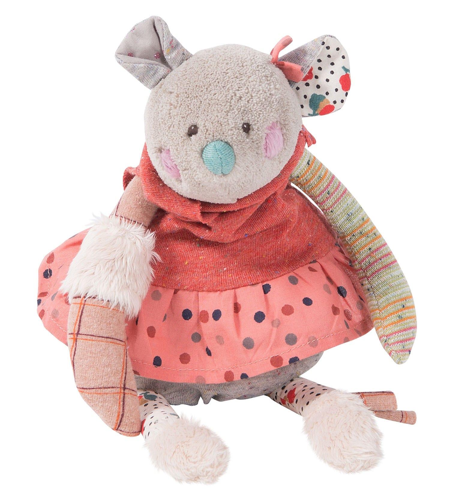 Купить Мягкая игрушка – Мышь. 30 см, Moulin Roty