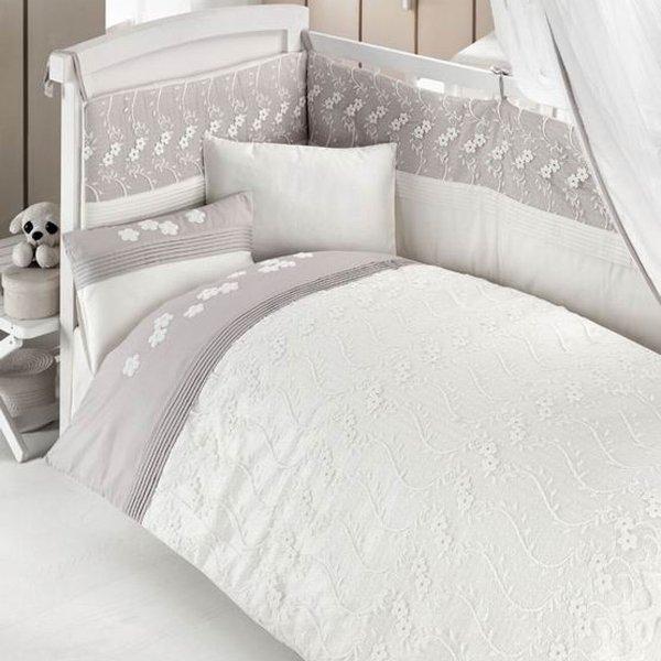 Комплект постельного белья и спальных принадлежностей из 6 предметов серии EleganteДетское постельное белье<br>Комплект постельного белья и спальных принадлежностей из 6 предметов серии Elegante<br>